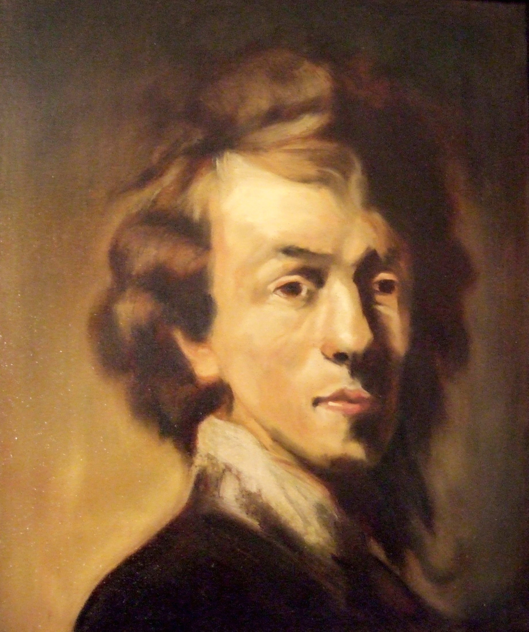 Interpretation of Rembrandt Selfportrait / Interprétation d'un autoportrait de Rembrandt