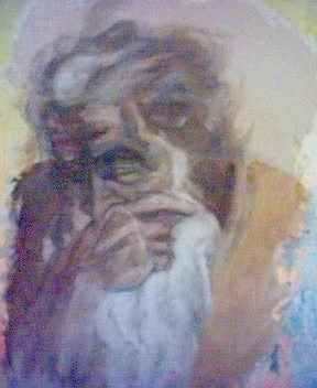 """fresco / fresque -Michel-Ange """" Jérémie"""" Chapelle Sixtine"""