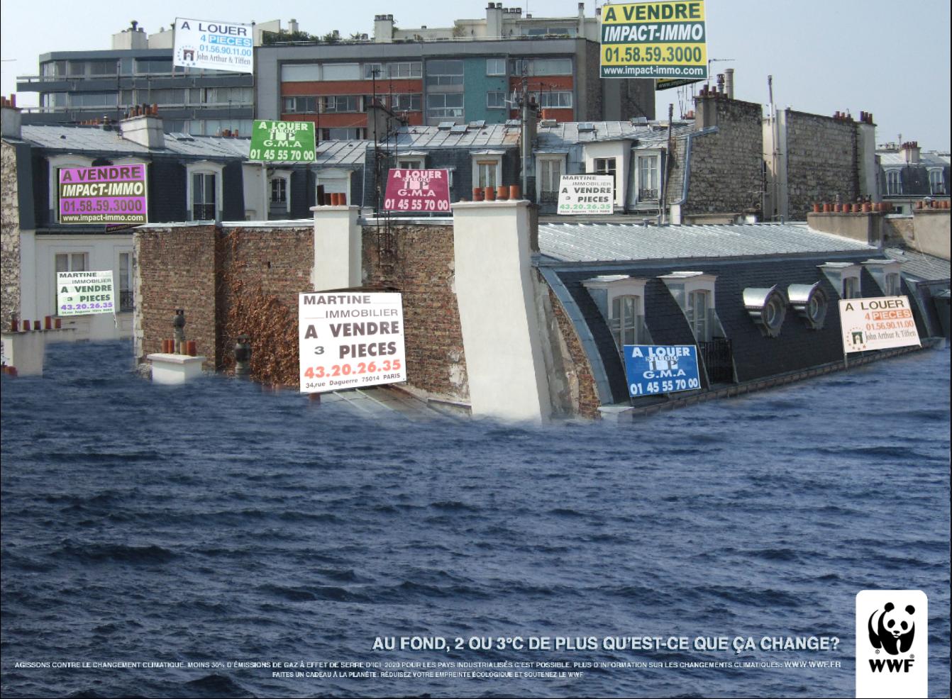 Inondation Rechauffement Clim - Global Warming / WWF