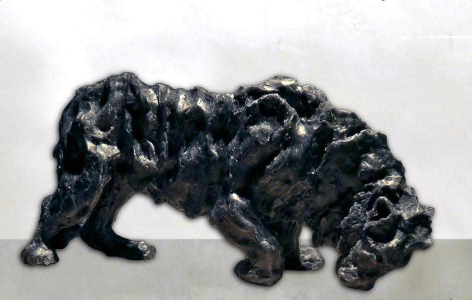 Endangered lion/ Lion en danger